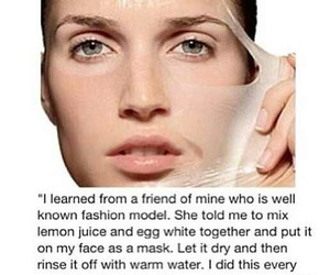 face, mask, and makeup image