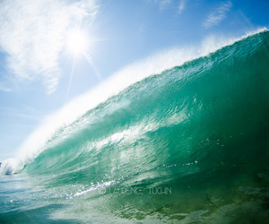 ocean, surfing, and waves image