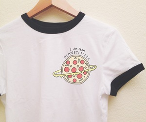 pizza, fashion, and outfit image