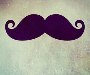 mustache, moustache, and wallpaper image