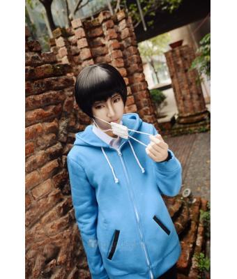 Tokyo Ghoul Ken Kaneki Blue Hoodie Cosplay Costume 46 99 Anime