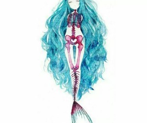 mermaid and hipster image