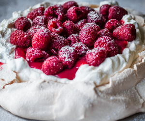 curd, food, and meringue image