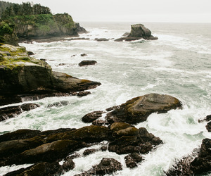 beautiful, la push, and sea image