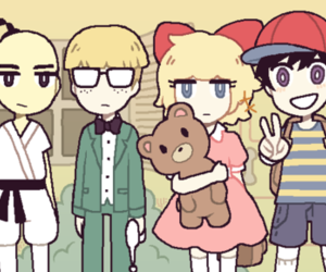 tumblr, ness earthbound, and paula earthbound image