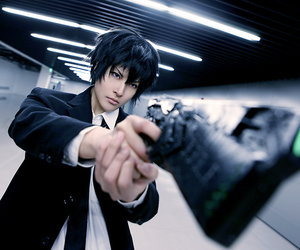 psycho-pass, cheap cosplay costume, and simple cosplay costume image