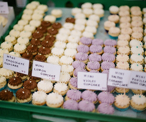 cupcake, food, and bakery image