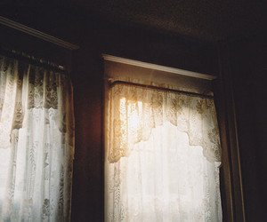 curtains, window, and windows image