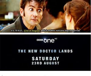 david tennant, doctor who, and pompeii image