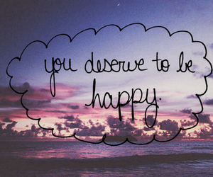 happy, quote, and text image