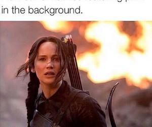 fandom, OMG, and katniss image