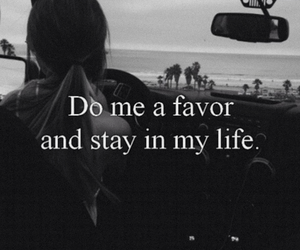 stay with me, please stay, and stay in my life image