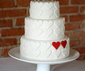 beautiful, cake, and hearts image