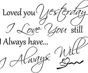always, sweet, and love you image