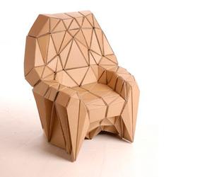 cardboard and chair image