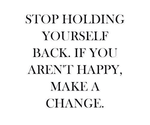 quotes, change, and happy image