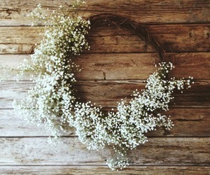 flowers, white, and grunge image