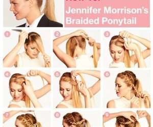 diy, hair style, and tutorials image