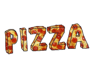 png, sticker, and pizza image