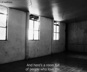 sad, alone, and room image