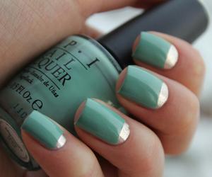 nails, nail polish, and opi image