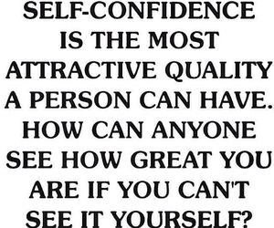 attractive, confidence, and great image