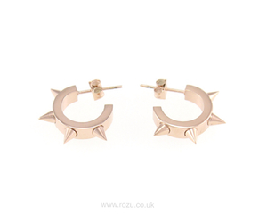 earrings, jewellery, and rose gold image