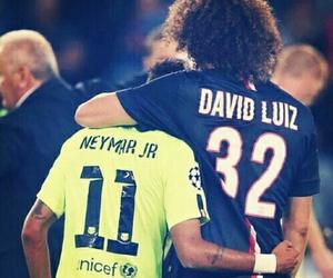 david luiz, neymar, and psg image