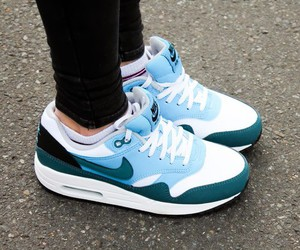 nike, air, and blue image