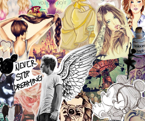 Collage, demi, and disney image