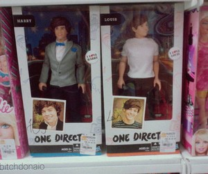 barbie, Harry Styles, and toys image