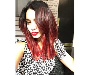 vanessa hudgens, hair, and red image