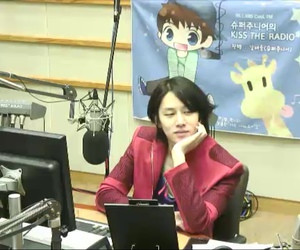 heechul, SJ, and kiss the radio image