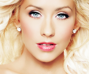 beautiful, christina aguilera, and sweet image