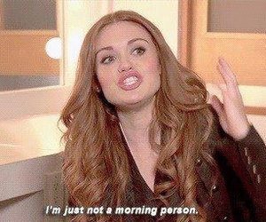 teen wolf, holland roden, and morning image