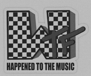 music, mtv, and wtf image