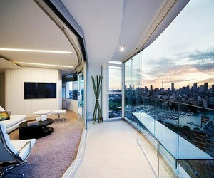 luxury, apartment, and view image