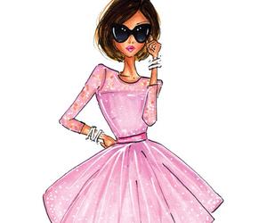 fashion, pastel, and pink image