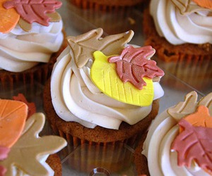 autumn, cupcake, and fall image