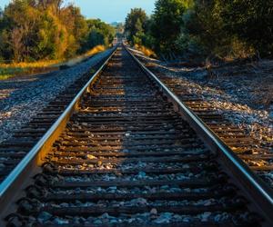 photography, railway, and train image