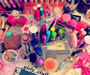 beauty, makeup, and girly pics image