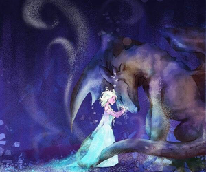 dragon, frozen, and toothless image