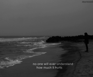 alone, understand, and words image