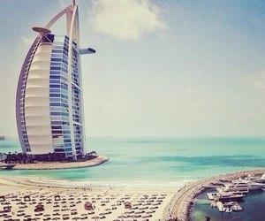 Dubai, summer, and beach image