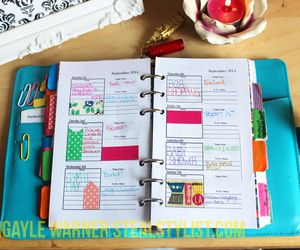 filofax, planner, and girly pictures image