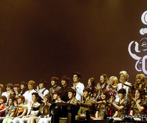 boa, super junior, and sm family image