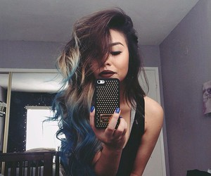 blue, pretty, and rock image