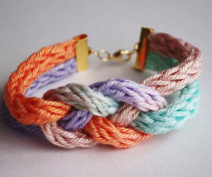 bracelet, colorful, and jewelry image