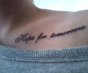 tattoo and hope image