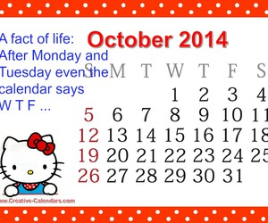 quotes, calendar, and life image